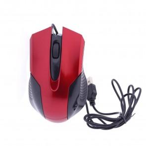 Winnboss WN-1092 Usb Kablolu Optik Mouse - Kırmızı