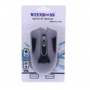 Winnboss WN-1092 Usb Kablolu Optik Mouse - Siyah