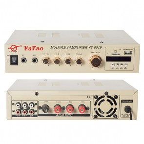 YATAO YT-5016 80W-100V/70/4-16 OHM HAT TRAFOLU USB UK FAN+BLUETOOTH ANFİ